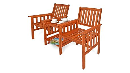 Zahradní lavička se stolem D3759 Dekorhome