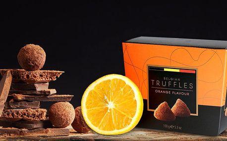 Originální čokoládové truffles v moha příchutích