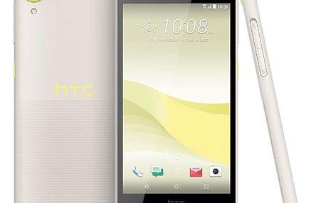Mobilní telefon HTC Desire 650 Single SIM - lime light žlutý + dárek Software F-Secure SAFE, 3 zařízení / 6 měsíců v hodnotě 979 Kč + DOPRAVA ZDARMA