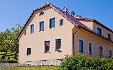 Horská chata v Krkonoších pro až 16 osob