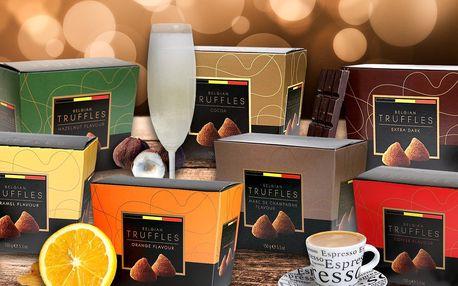 Originální čokoládové truffles