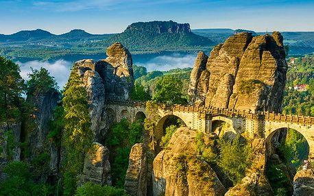 Celodenní zájezd pro 1 do Saského Švýcarska s návštěvou Bastei a Hřenska