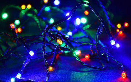 Nexos 28571 Vánoční LED osvětlení 40 m - barevné, 400 diod
