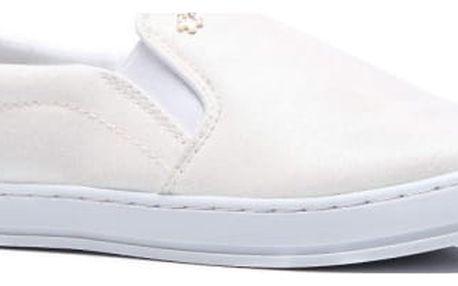 Dámské bílé slip on tenisky Bonnie 756