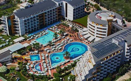Turecko - Alanya na 9 dní, all inclusive s dopravou letecky z Prahy 250 m od pláže