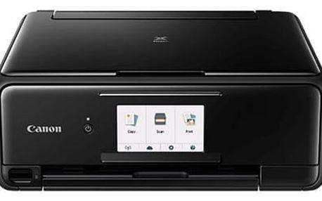Tiskárna multifunkční Canon PIXMA TS8150 černý (A4, 15str./min, 10str./min, 4800 x 1200, duplex, WF, USB) (2230C006)