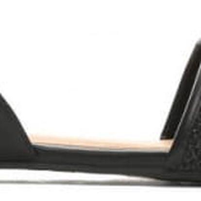 Dámské černé sandály Costa 7249