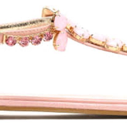 Dámské růžové sandále Larissa 7161
