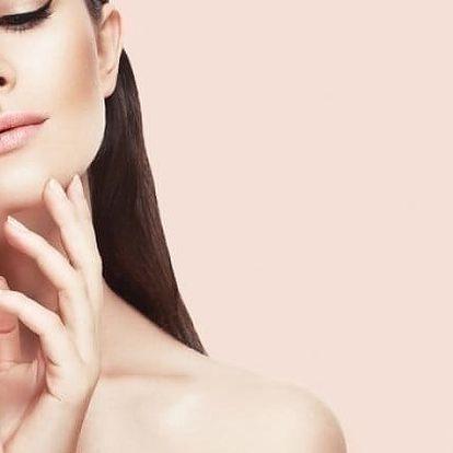 Kosmetické ošetření pleti luxusní kosmetikou Alcina v brněnském studiu Lenna