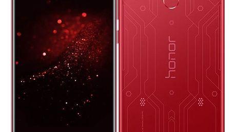 Mobilní telefon Honor Play (51092VQS) červený SIM karta T-Mobile 200Kč Twist Online Internet v hodnotě 200 Kč