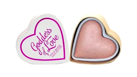 Makeup Revolution London I Heart Makeup Goddess Of Love 10 g rozjasňovač pro ženy Goddess Of Love