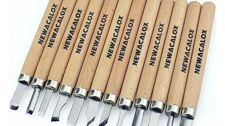 Řezbářské nástroje - 12 kusů