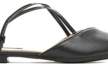 Dámské černé sandály Nice 027
