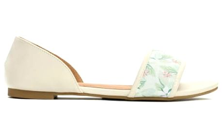 Dámské béžové sandály Brava 7248
