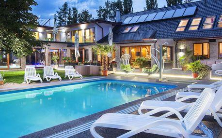Odpočinkový pobyt s bazény, wellness i polopenzí