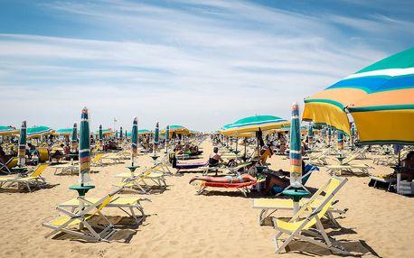 Jednodenní koupání v Itálii | Zájezd do Bibione | Celý den u moře | Nástupní místa v celé ČR