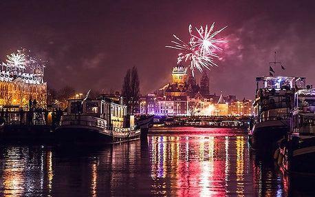3denní silvestrovský zájezd pro 1 osobu do Amsterdamu i s lahví sektu