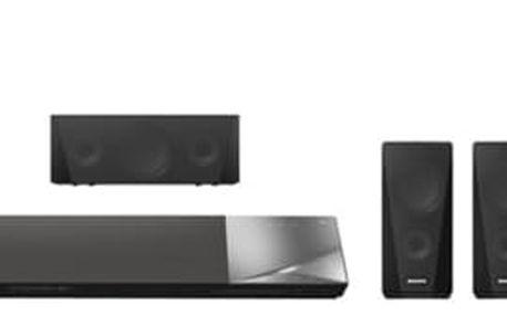 Domácí kino Sony BDV-N5200W černé + dárek USB Flash Sony USMW 32GB kov/plast v hodnotě 415 Kč