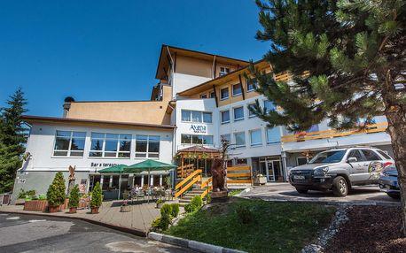 Rodinná dovolená v Nízkých Tatrách v AVENA RELAX HOTEL ***