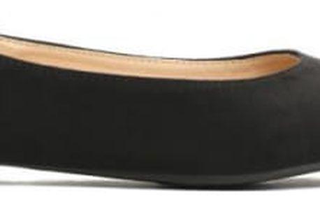 Dámské černé sandály Closset 018