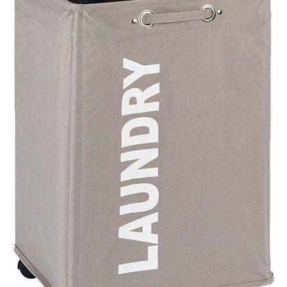 Koš na prádlo QUADRO - kontejner 79 l, WENKO