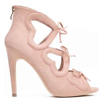 Dámské růžové sandály Jane 1240