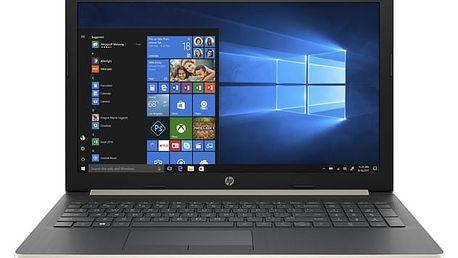 Notebook HP 15-db0040nc (4UG24EA#BCM) zlatý Software F-Secure SAFE, 3 zařízení / 6 měsíců v hodnotě 979 Kč + DOPRAVA ZDARMA