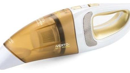 Akumulátorový vysavač ETA Verto II 1423 90000 bílý/zlatý