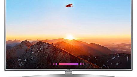Televize LG 43UK6950PLB stříbrná