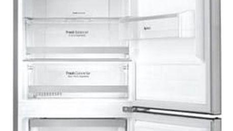 Chladnička s mrazničkou LG GBB60PZFZS nerez