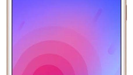 Mobilní telefon Meizu M6 (M711H/32GB/Gold) zlatý SIM karta T-Mobile 200Kč Twist Online Internet v hodnotě 200 Kč