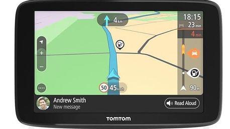 Navigační systém GPS Tomtom Go Basic 5 černá (1BA5.002.01)