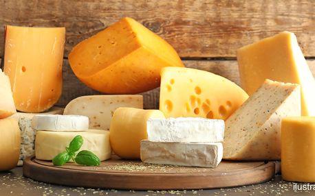 400g balíčky sýrů: výběr ze 3 lákavých variant