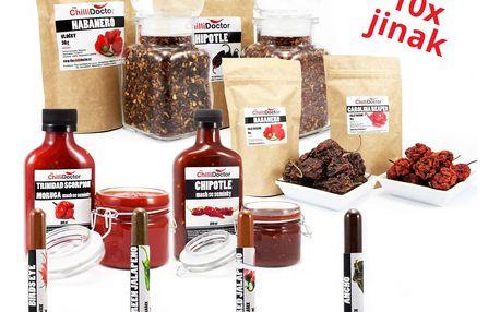 Chilli Doctor grilovací chilli balíček 10 ks