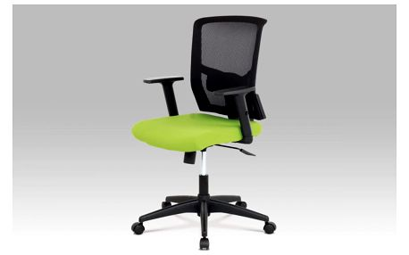 Kancelářská židle KA-B1012 GRN zelená + černá Autronic