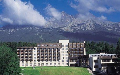 Slovensko - Vysoké Tatry na 5 dní, polopenze s dopravou vlastní