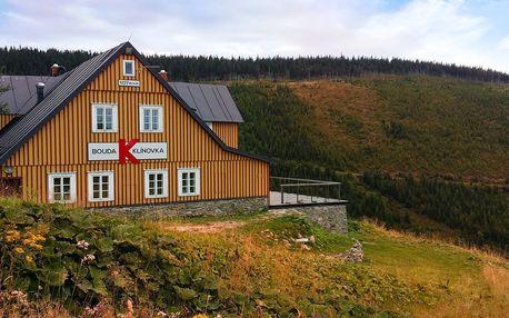 Pobyt s polopenzí v horské boudě v Krkonoších