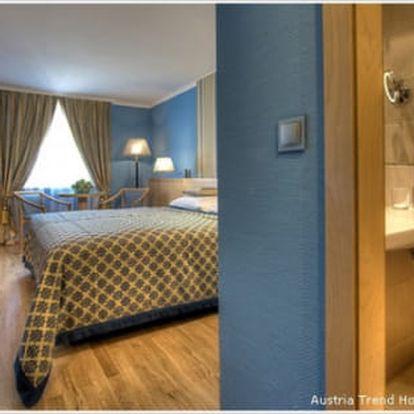Vídeň na 3 nebo 4 dny pro 2 osoby se snídaněmi ve 4* hotelu