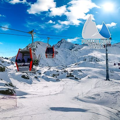 5denní Passo Tonale se skipasem | Hotel Al Maniero*** | Doprava, ubytování, polopenze a skipas