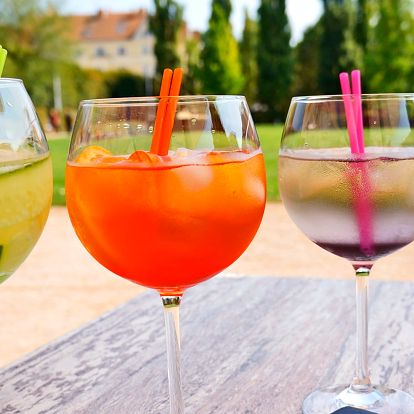 Drink v parku: 2x Spritz i GinTonic podle výběru