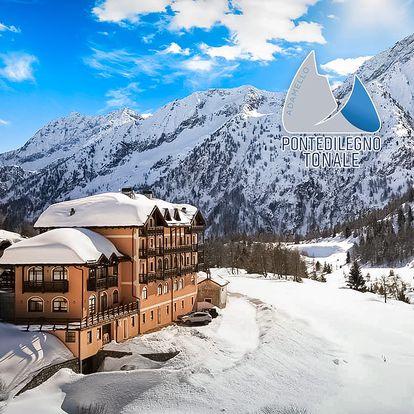 5denní Passo Tonale se skipasem   Hotel Locanda Locatori***   Doprava, ubytování, polopenze a skipas