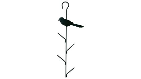 Závěsný držák na 4 lojové koule s ptáčkem