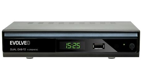 DVB-T2 přijímač Evolveo Gamma T2 černý
