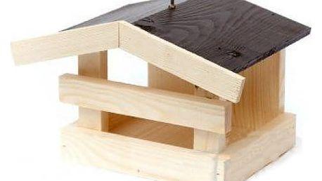Venkovní dřevěné krmítko KUBA