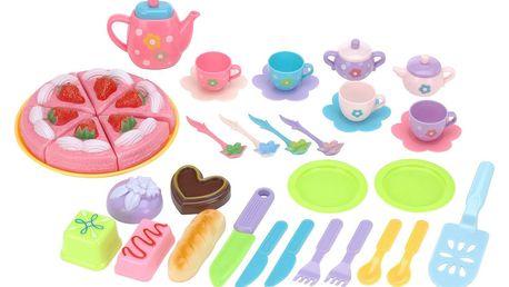 Dětský set pro čajovou párty Strawberry, 37 ks