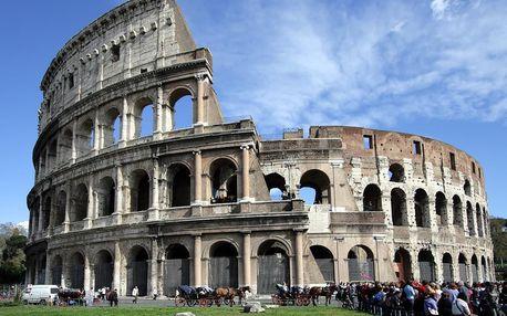 Řím – Hotel Blu Roma
