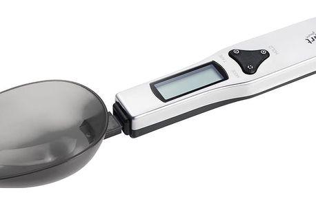 Lamart Vážící lžíce černá do 0,5 kg LT7034