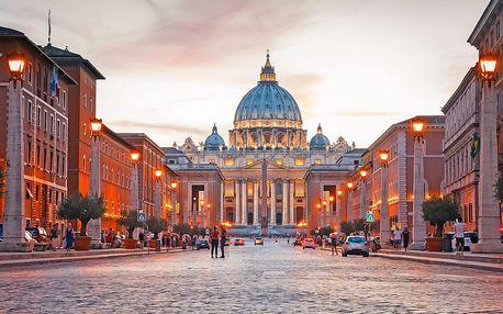 5denní zájezd od Říma až po Capri s výstupem na Vesuv