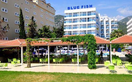 Turecko - Alanya na 8 dní, all inclusive s dopravou letecky z Prahy 100 m od pláže