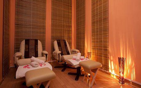 90 minut relaxace: masáž + aroma lázeň na nohy v centru Prahy